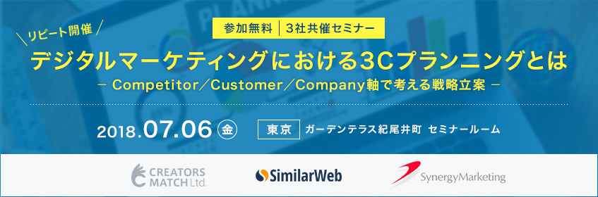 デジタルマーケティングにおける3Cプランニングとは