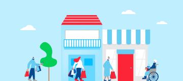 小売業界向け デジタルを活用したユーザーとの接点作り