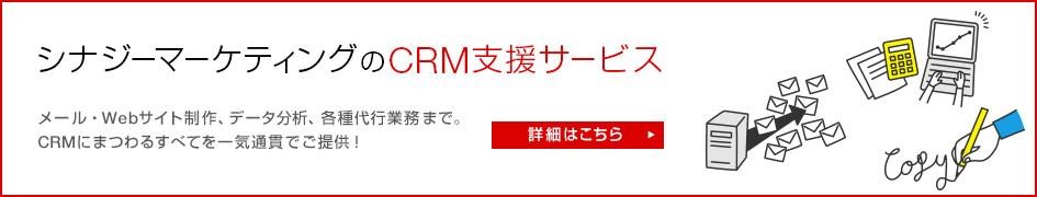 シナジーマーケティングのCRM支援サービス