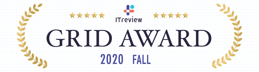 ITreview「GRID AWARD」
