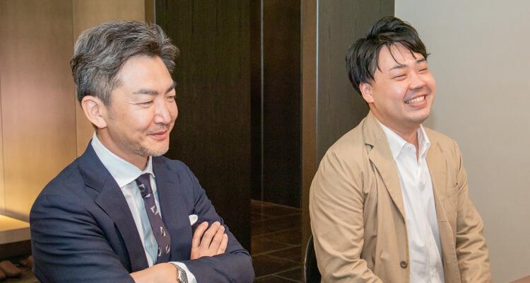 今後の展望に語る高橋氏と磯本氏
