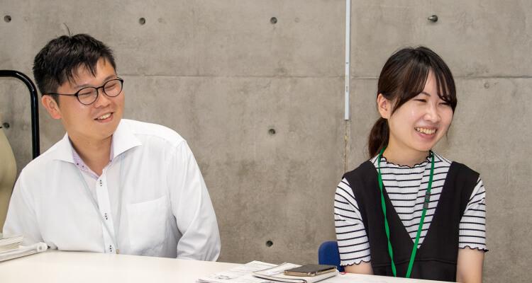 ペルソナについて話す土井氏と花谷氏